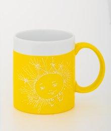 Ručně malovaný hrneček - žlutý